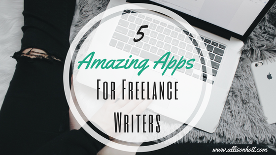 apps for freelance writers